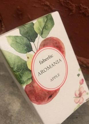 Туалетная вода aromania apple faberlic