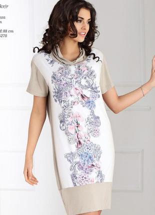 Шикарное летнее платье польского бренда top-bis / zaps