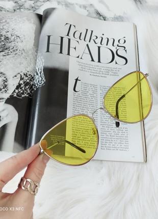 Стильные солнцезащитные очки, кошечки