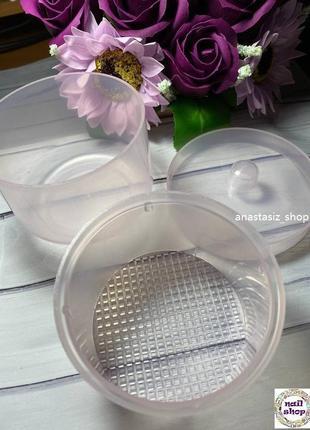 Контейнер для хранения и дезинфекции фрез пластиковый3 фото