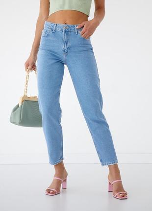 Класичні джинси мом висока посадка жіночі 🇹🇷8 фото