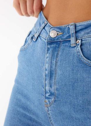 Джинсові штани скінни американки slim 🇹🇷висока посадка6 фото