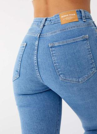 Джинсові штани скінни американки slim 🇹🇷висока посадка4 фото