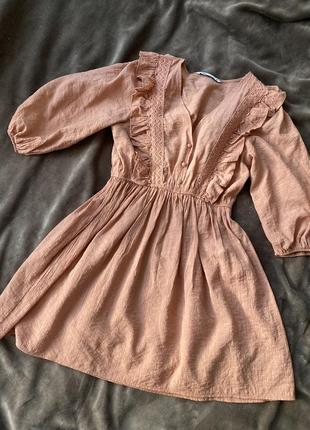 Платье сарафан зара