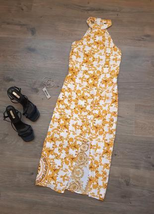 Стильное платье миди. плаття міді
