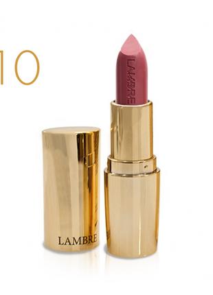 Классическая помада classic exclusive colour №10  натуральный розовый - полуматовый