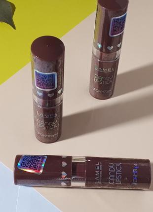 Помада-бальзам для губ lamel professional candy lipstick oh my lips