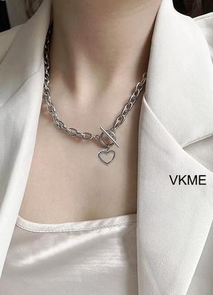 Цепочка ожерелье чокер украшение на шею