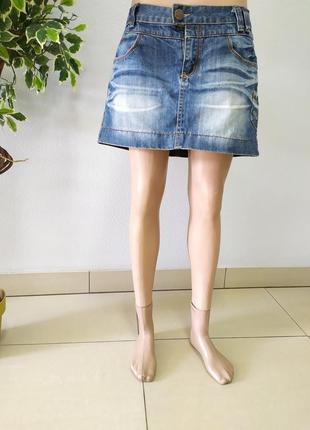 Літня юбка джинсова мини р.м/l
