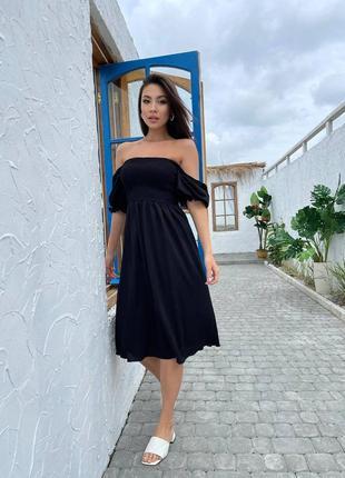 Платье из льняного ❤️🔥