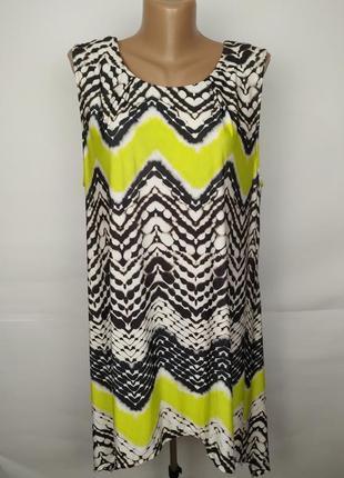 Платье новое красивое в геометрический принт wallis xl