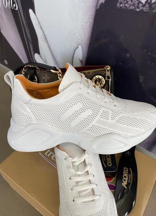 Базовые белые кожаные кроссовки турция в самом высоком качестве🕊🕊🕊