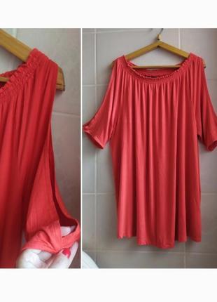 Стильное платье батал большого размера