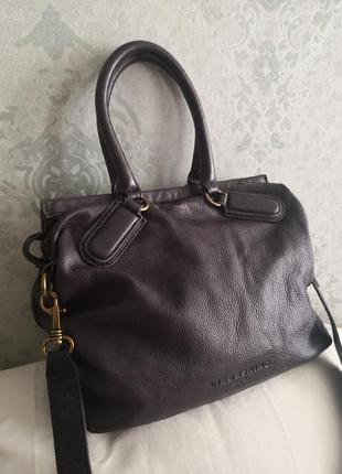 Шикарная кожаная сумка liebeskind, берлин👜💣🤗🔥