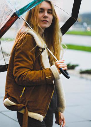 Крутая куртка zara (зима-осень)