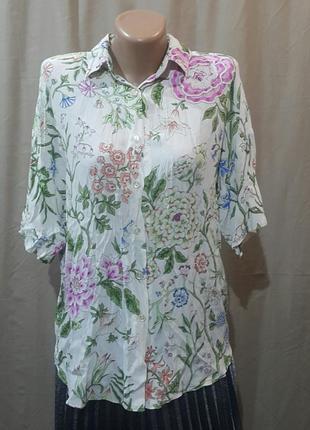 Рубашка блуза ретро