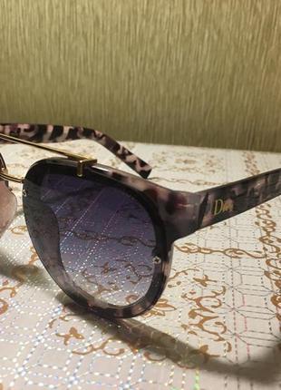 Очки солнцезащитные серый градиент