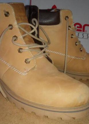 Rieker 42 зимние теплые ботинки