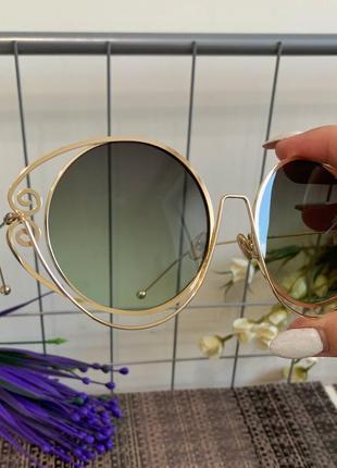 Солнцезащитные очки на крупное личико3 фото