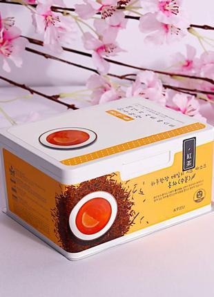 Ежедневные увлажняющие тканевые маски с экстрактом черного чая