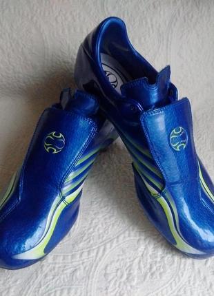 Бутсы adidas f50 tunit blue
