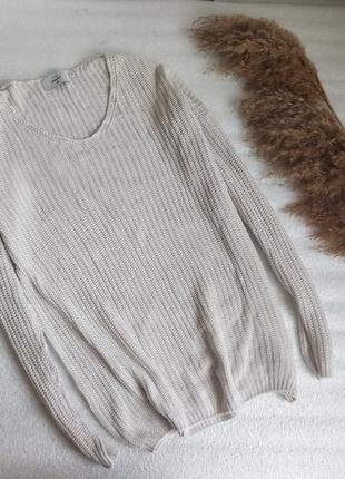 ✨тонкий , натуральний , бавовняний базовий светр ✨