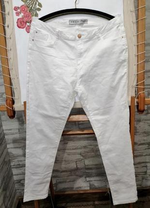 Белые джинсы denim co