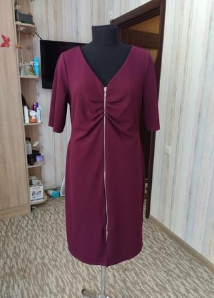 Роскошное силуэтное платье 54-56 размер