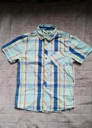 Красивая детская рубашка next