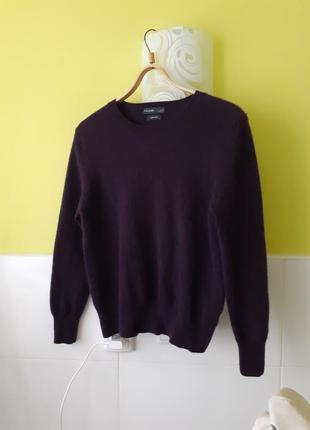 Кашемировый свитер цвета  шелковицы от marks&spencer