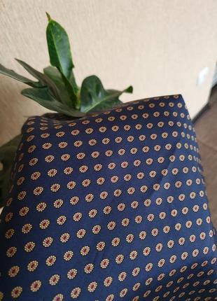 Шикарный шелковый шарф италия, 100% натуральный шёлк