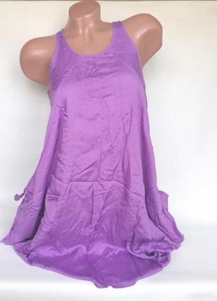 Крутая асимметричная туника - платье с карманами diesel оригинал (к003)