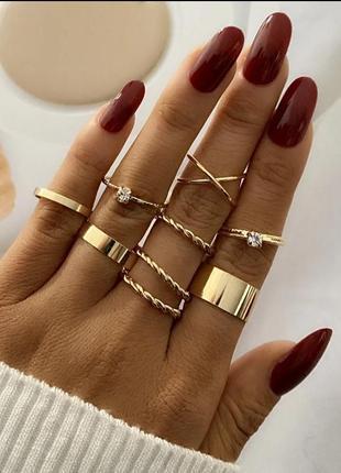 Набор колечек колечки колечко кольцо