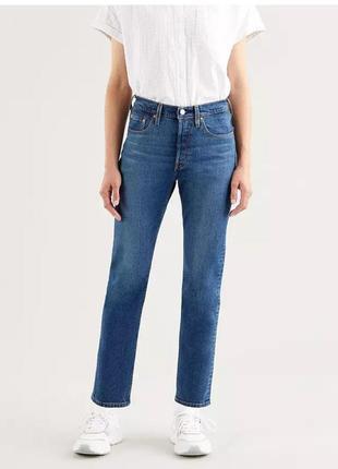 Широкие джинсы levis. прямые джинсы. джинсы клёш