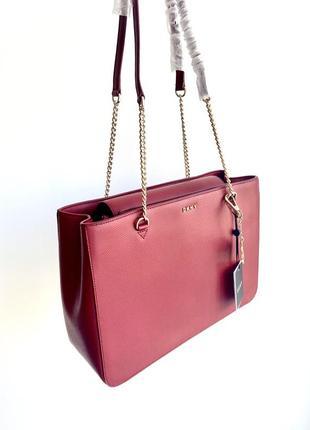 Женская сумка dkny tote оригинал кожаная жіноча сумка шкіряна оригінал