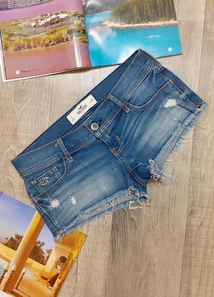 Шорты женские hollister джинс
