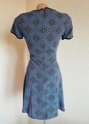 Платье warehouse вискоза плаття сукня мини міні4 фото