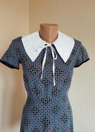 Платье warehouse вискоза плаття сукня мини міні5 фото