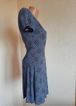 Платье warehouse вискоза плаття сукня мини міні3 фото