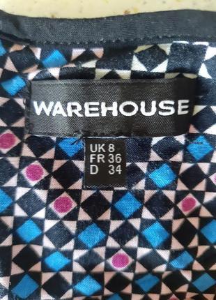 Платье warehouse вискоза плаття сукня мини міні7 фото