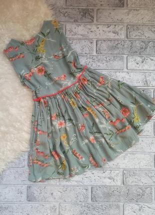 Платье/сукня в квітковий принт