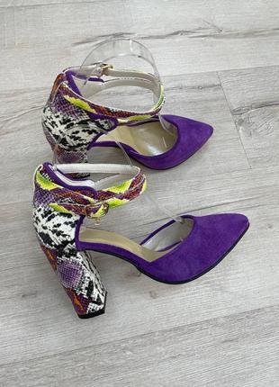 Туфли лодочки босоножки5 фото
