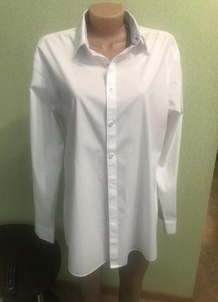 Идеальная базовая рубашка в стиле бойфренда2 фото