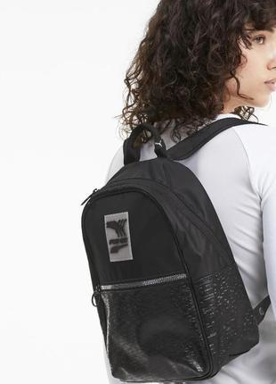 Городской рюкзак puma с оригинальной змейкой