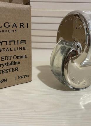 Bvlgari omnia crystalline tester 65 ml