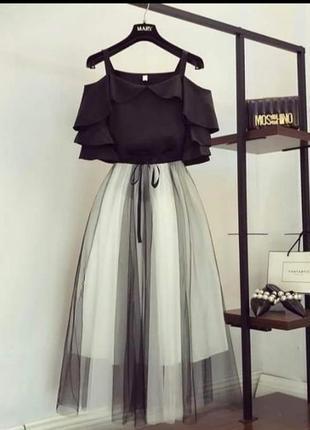 Красивое платье двойка