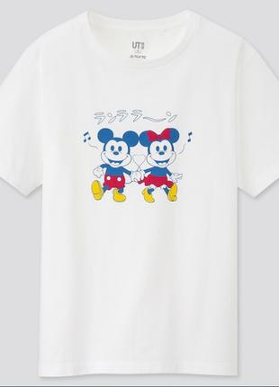Mickey manga art ut футболка с коротким рукавом uniqlo