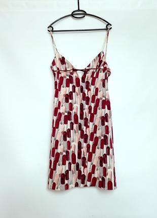 Изумительное платье в бельевом стиле с открытой спиной от prada