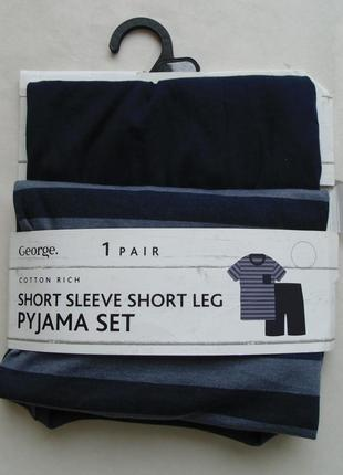 Домашний костюм пижама м george англия