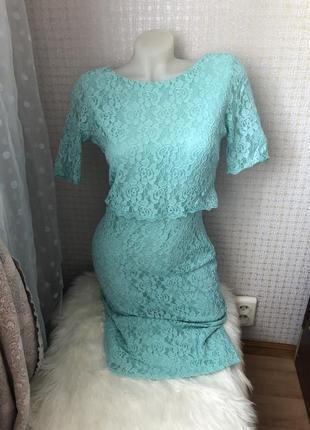 Кружевное платье сукня плаття нарядное на выход
